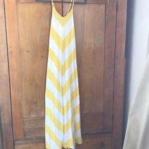 Darling Gap Chevron Maxi dress